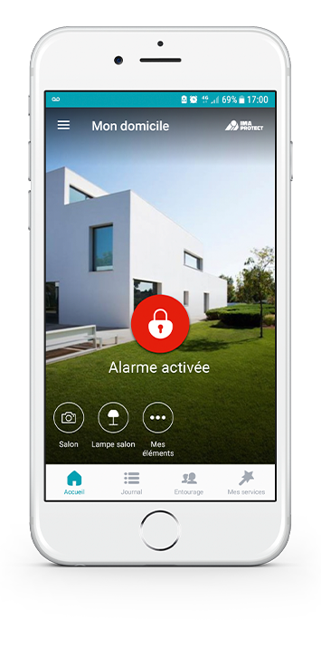 L'application mobile IMA PROTECT