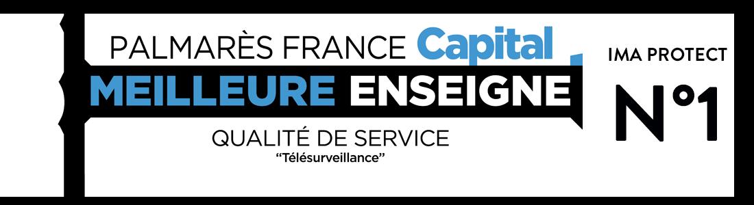 Palmarès France Capital - Meilleure enseigne - Qualité de service : télésurveillance