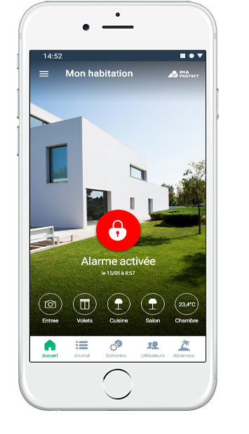 L'application mobile IMA PROTECT
