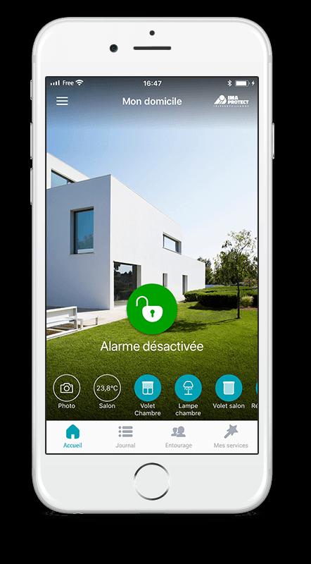 abonnement alarme maison simple latest livinium kit alarme connecte sans fil sans abonnement. Black Bedroom Furniture Sets. Home Design Ideas